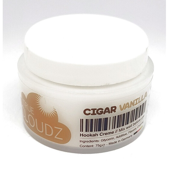 True Cloudz 75g - Cigar Vanille
