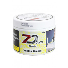 7 Days 200g - Vanilla Cream